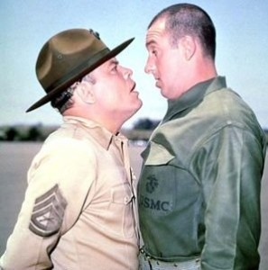 gomer pyle and sargeant carter