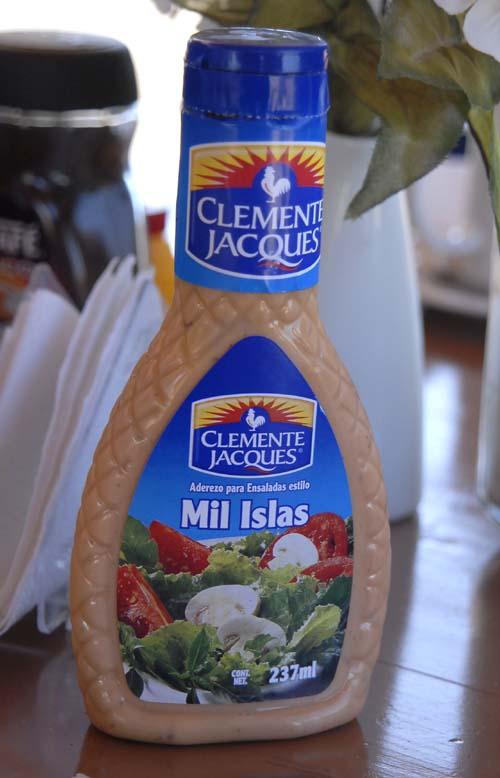 Yep, 1000 Island salad dressing