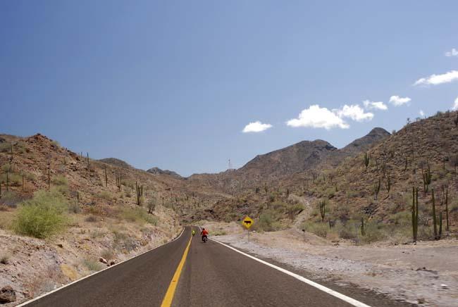 Arlene and John on the road