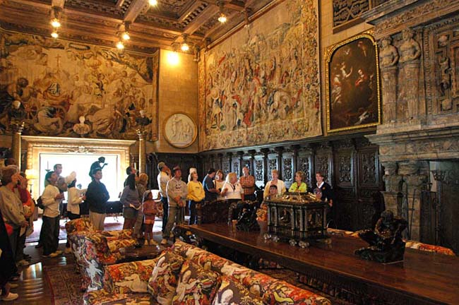 """mise en scene hearst castle and movie San simeon, calif (ap) — for some movie buffs, showing orson welles'  acclaimed film """"citizen kane"""" at hearst castle is like having a."""