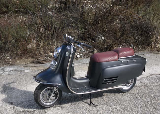 A 250cc hybrid scooter