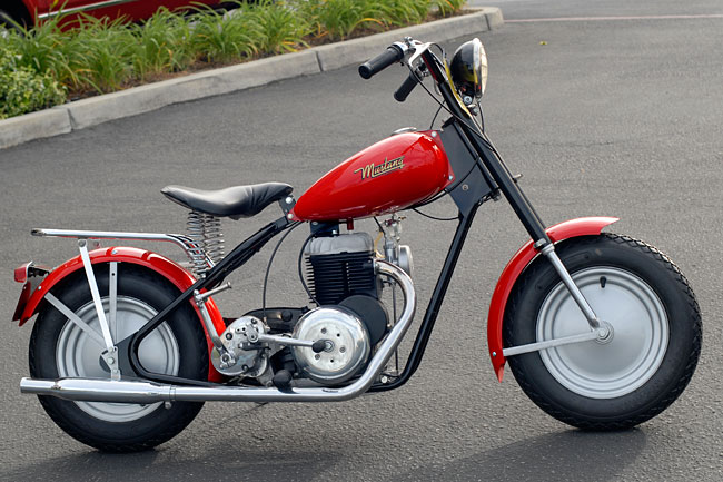 1963 Mustang Pony Motorcycle