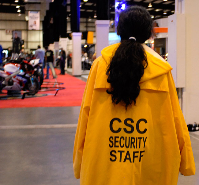 We at CSC Motorcycles take security very seriously...