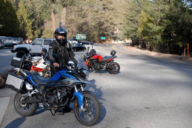 One last shot in front of Newcomb's Ranch...one of So Cal's famous moto spots!
