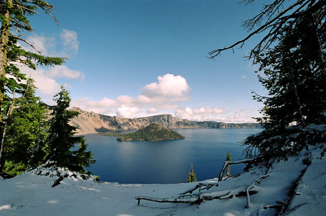 A ride to Oregon's Crater Lake on the RX3?  You bet!  So what if there's a little bit of snow!