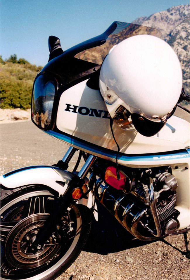 The Mighty Six...my old 1982 Honda CBX