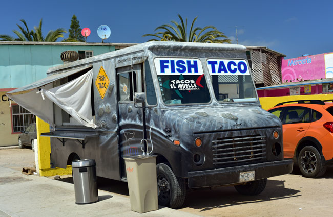 The best fish tacos in the world!