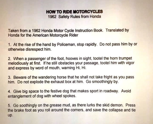 my first scooter instructions