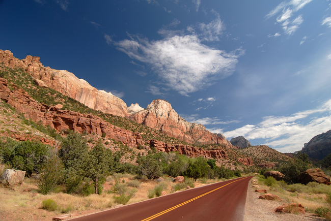 Zion National Park...the colors really are this vibrant!