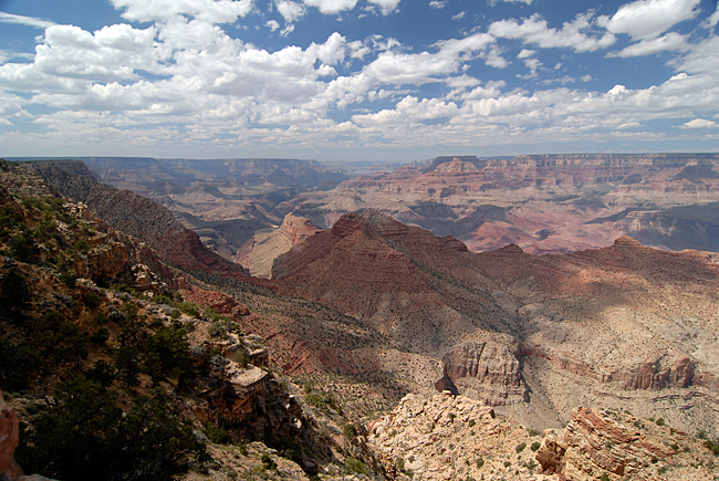 The Grand Canyon...majestic just doesn't begin to describe it!