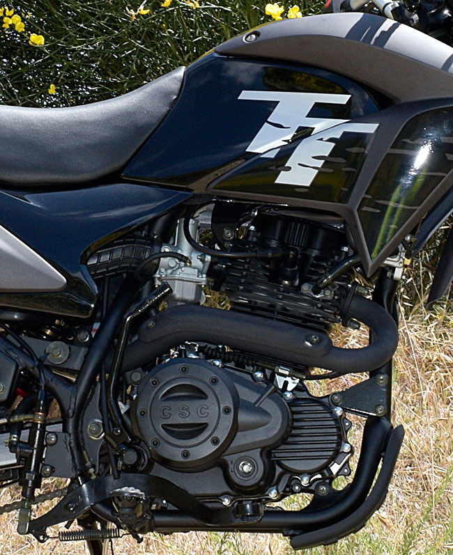 The CSC TT250 engine