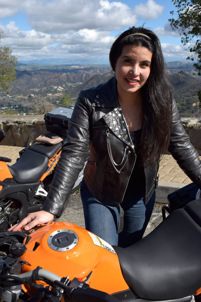 The Chilean Ambassador, our very own Grisel (aka Bunny Rider)!
