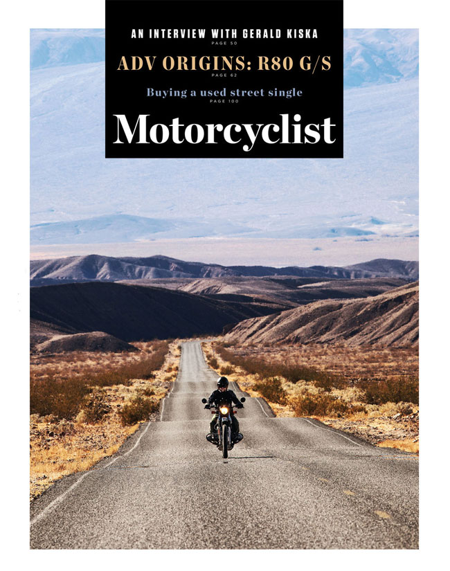 From the Motorcyclist Facebook post about their new magazine format.