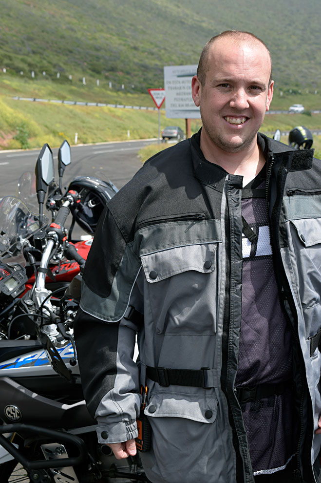 Matt, who owns both a TT250 and an RX3! Several of the guys on this run own both CSC bikes. You just can't get enough of a good thing!