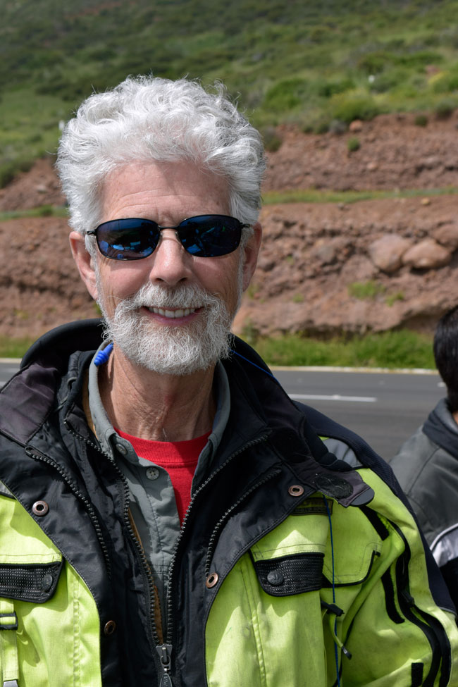 Colorado Dan, on his third CSC Baja ride! This guy is one of the most photogenic motorcycle riders I've ever known!