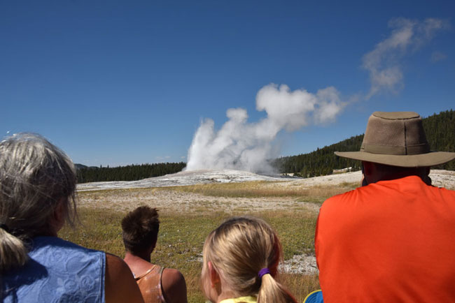 Old Faithful...everybody needs to see this