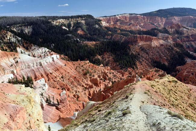 One of the views in Cedar Breaks National Park