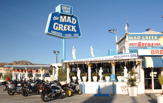 The Mad Greek in Baker...I love that place!