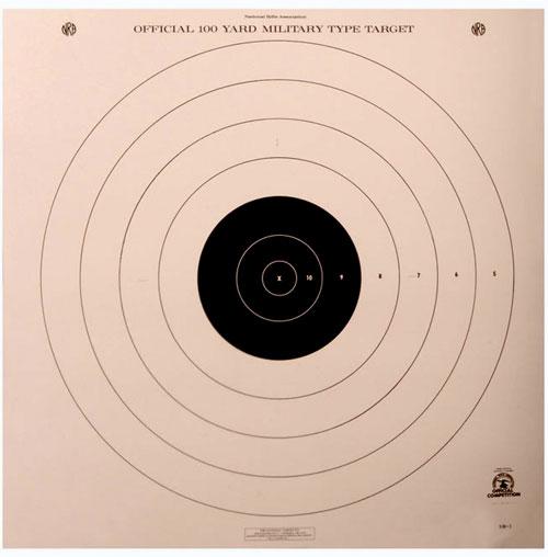 The SR-1 target