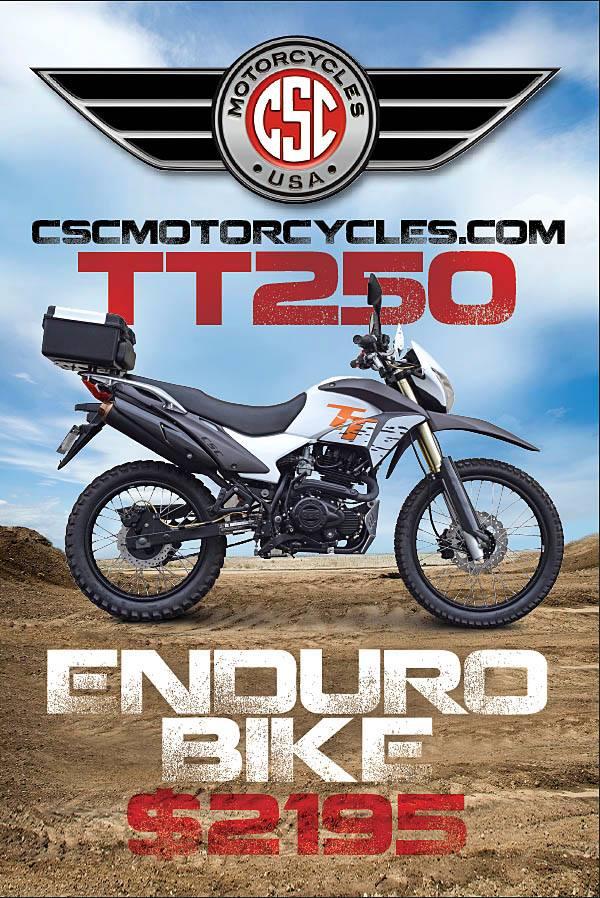 Best Enduro Motorcycle >> The 2019 Csc Tt250 Enduro Still The Best Motorcycle Value