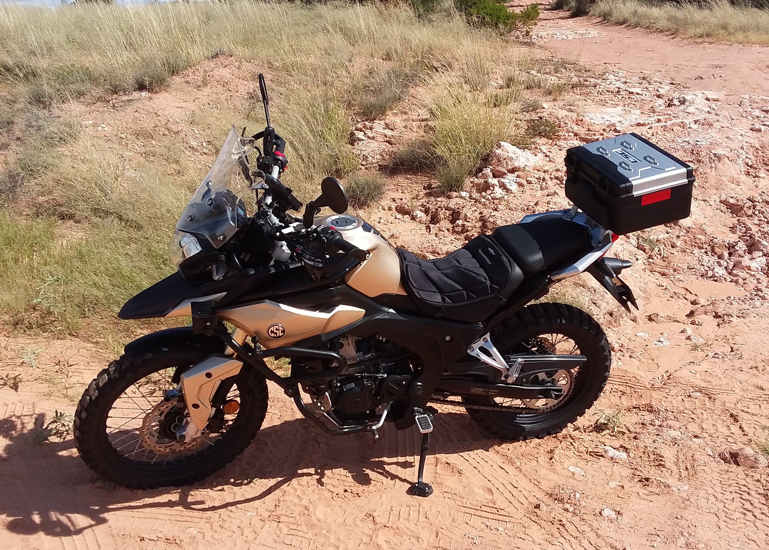 Top FIVE Modifications to Your CSC RX3 for Adventure Riding
